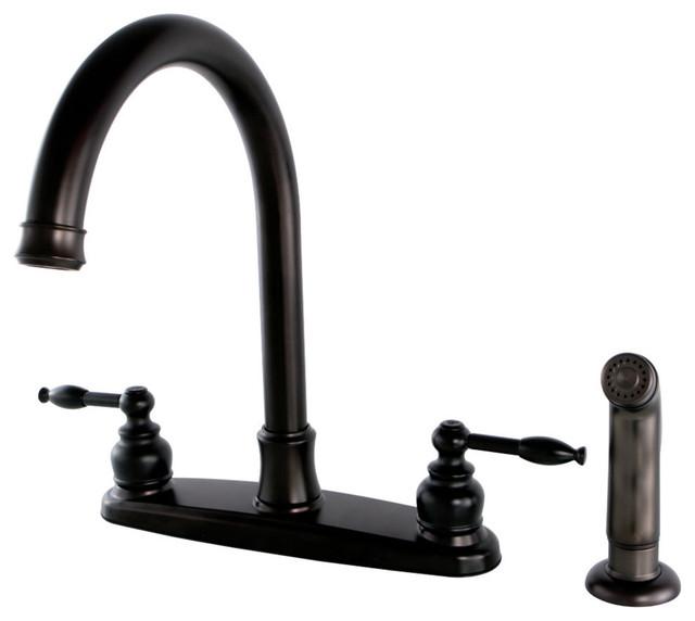 FB7795KLSP Centerset Kitchen Faucet, Oil Rubbed Bronze