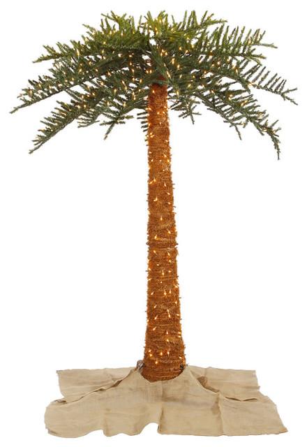 Out Royal Palm Tree, Dura-Lit LED 650 Warm White, 8'