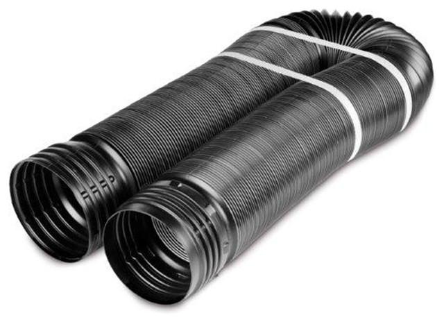 Flex Drain 4 Quot X12 Solid Pipe Black Transitional