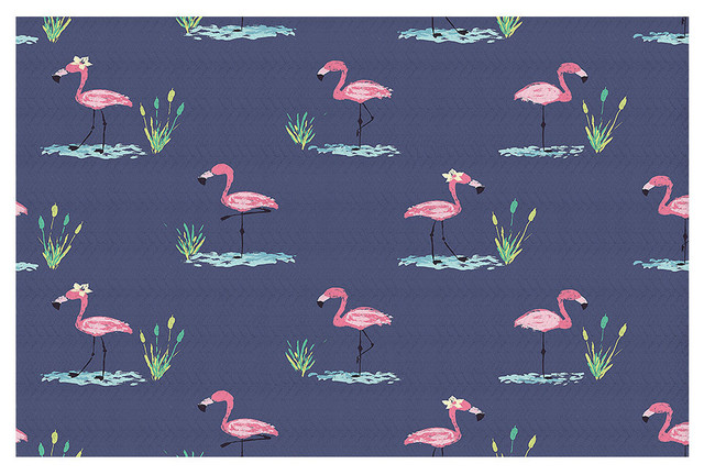 Flamingo Ll Area Rug, 72.5x52.5.