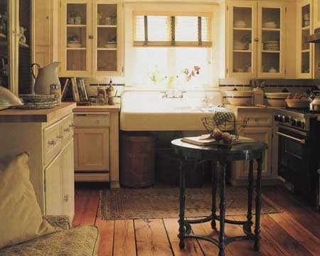 Elegance & Decay eclectic kitchen