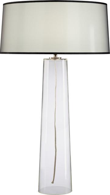 Robert Abbey Rico Espinet Olinda Tall Clear Glass Table Lamp