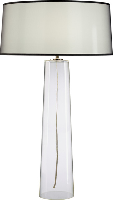 Robert Abbey Rico Espinet Olinda Tall Clear Glass Table Lamp