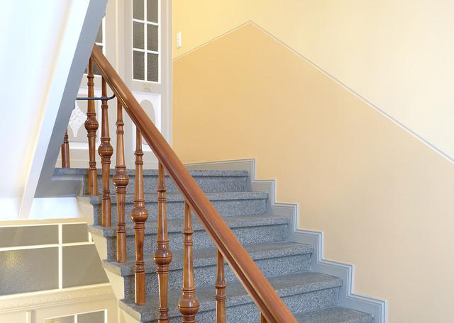 Treppenhaus Im Altbau Klassisch