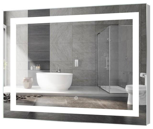 Kent Rectangular Led Mirror With Sensor 48 X36