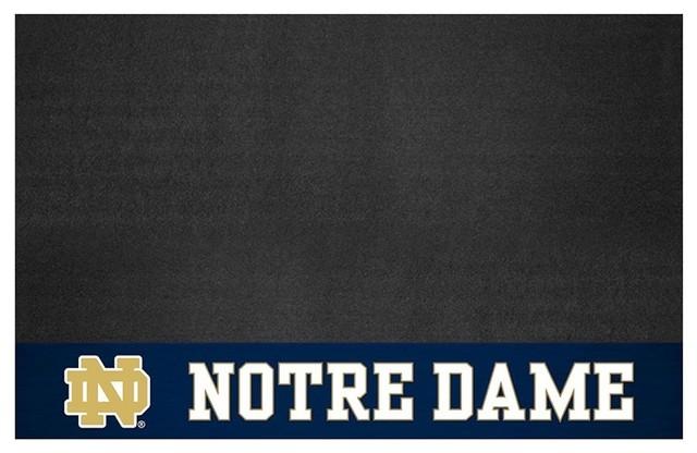 """Fanmats 13323 Notre Dame Grill Mat, 26""""x42""""."""