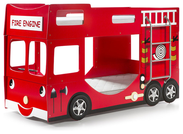 Fire Truck Bunk Bed Bunk Beds By Vipack