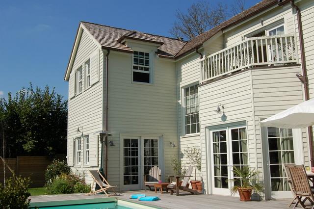 Style Nouvelle Angleterre maison nouvelle-angleterre - transitional - paris -isabel jacquinot