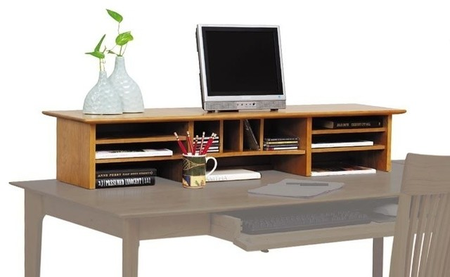 Copeland sarah desktop organizer traditional desks and - Cherry desk organizer ...
