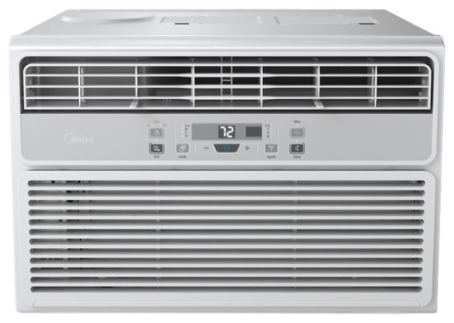 Easycool 12,000 Btu Window Air Conditioner With Followme Remote, White/silver.