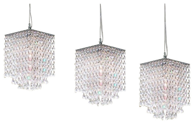 3 piece set modern crystal pendant chandelier h 9xw 6 view in 3 piece set modern crystal pendant chandelier h 9xw 6 traditional chandeliers aloadofball Images