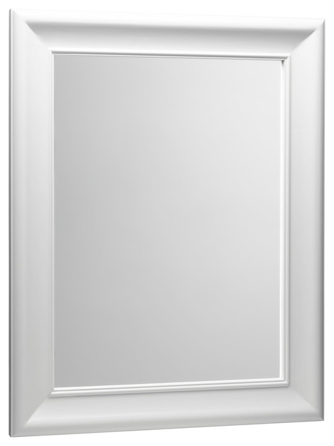 Ronbow Corporation Ronbow Traditional Solid Wood Framed Bathroom Mirror Cream 29 X37 View