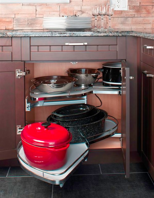 KITCHEN BLIND CORNER WITH TRAY CABINET