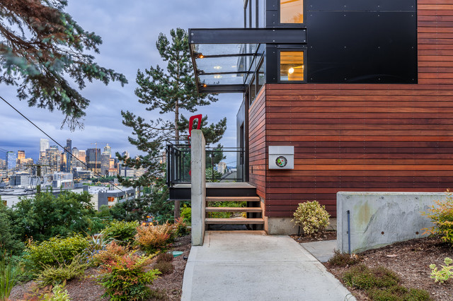 Queen Anne Modern Contemporary Seattle By Chris