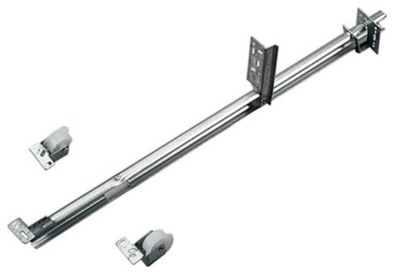 """24"""" Zinc Medium Draw Slide - Traditional - Cabinet And Drawer Hardware - by Drill Spot, LLC"""