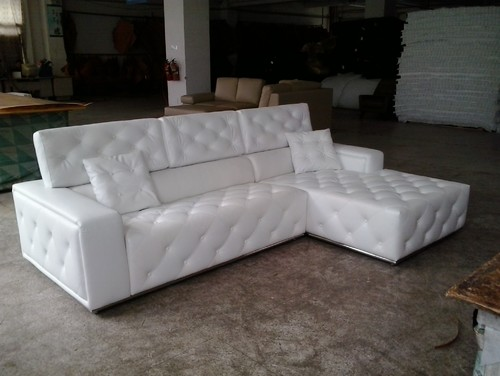Our New, Freshly Manufactured Prototype, Of Modern Sofa.