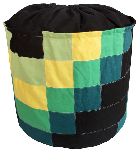 Practical Canvas Collapsible Laundry Basket Storage Bag Laundry Bag Black.