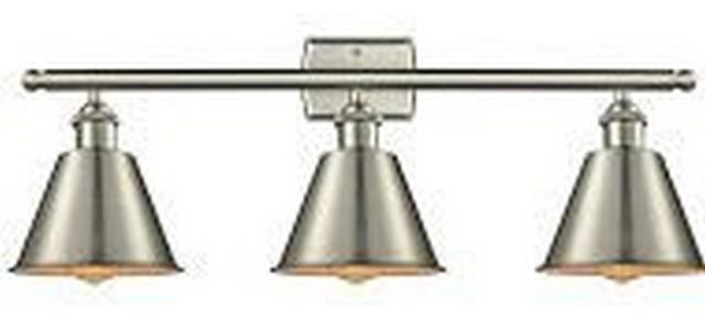 """Barrington 26"""" 9W 3 LED Bath Vanity Brushed Satin Nickel"""