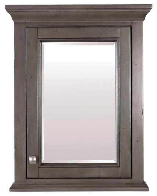Brantley Medicine Cabinet, Distressed Gray.