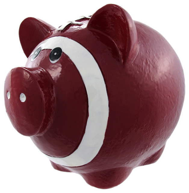 Funny Football Pig Piggy Bank Pigskin Sports Traditional