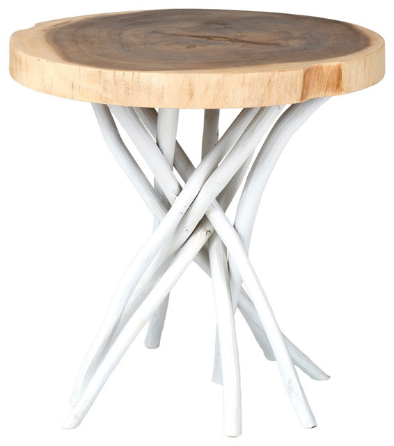 Joeslin Accent Table Beach Style Side Tables And End Tables
