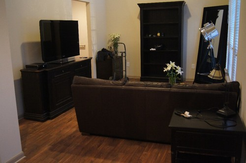Living Room Length: 14 Ft To Edge Of Kitchen Living Room Width: 11.5 Ft Wide  (10 Ft To Tv Stand) Dining Room Length: 12.5 Ft Dining Room Width: 8 Ft  Min, ...