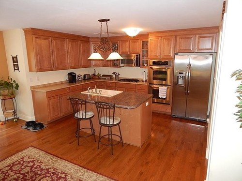 Purchasing new home. Want to update maple kitchen cabinets