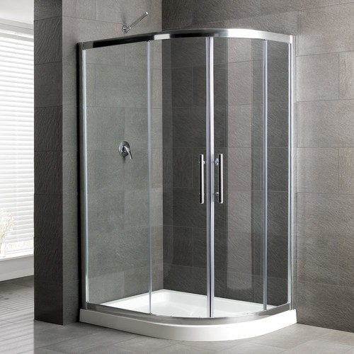 Where Can I Find This Curved Corner Shower Kit In USA