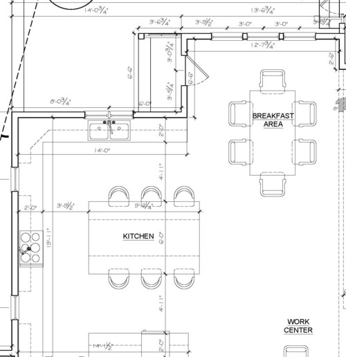 Kitchen Layout Dimensions With Island: Kitchen Island Size