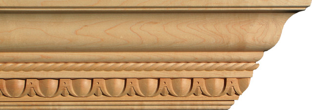 Egg And Dart Crown Molding 5 1 8 Quot In Maple By Campbell