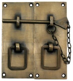 Shop Houzz | Gado Gado International Two-Piece Rectangular Latch With Handle - Cabinet And ...