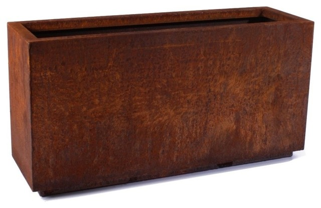 Haviland Rectangular Planter, Medium.