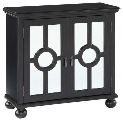 Chai Accent Chest, Antique Black