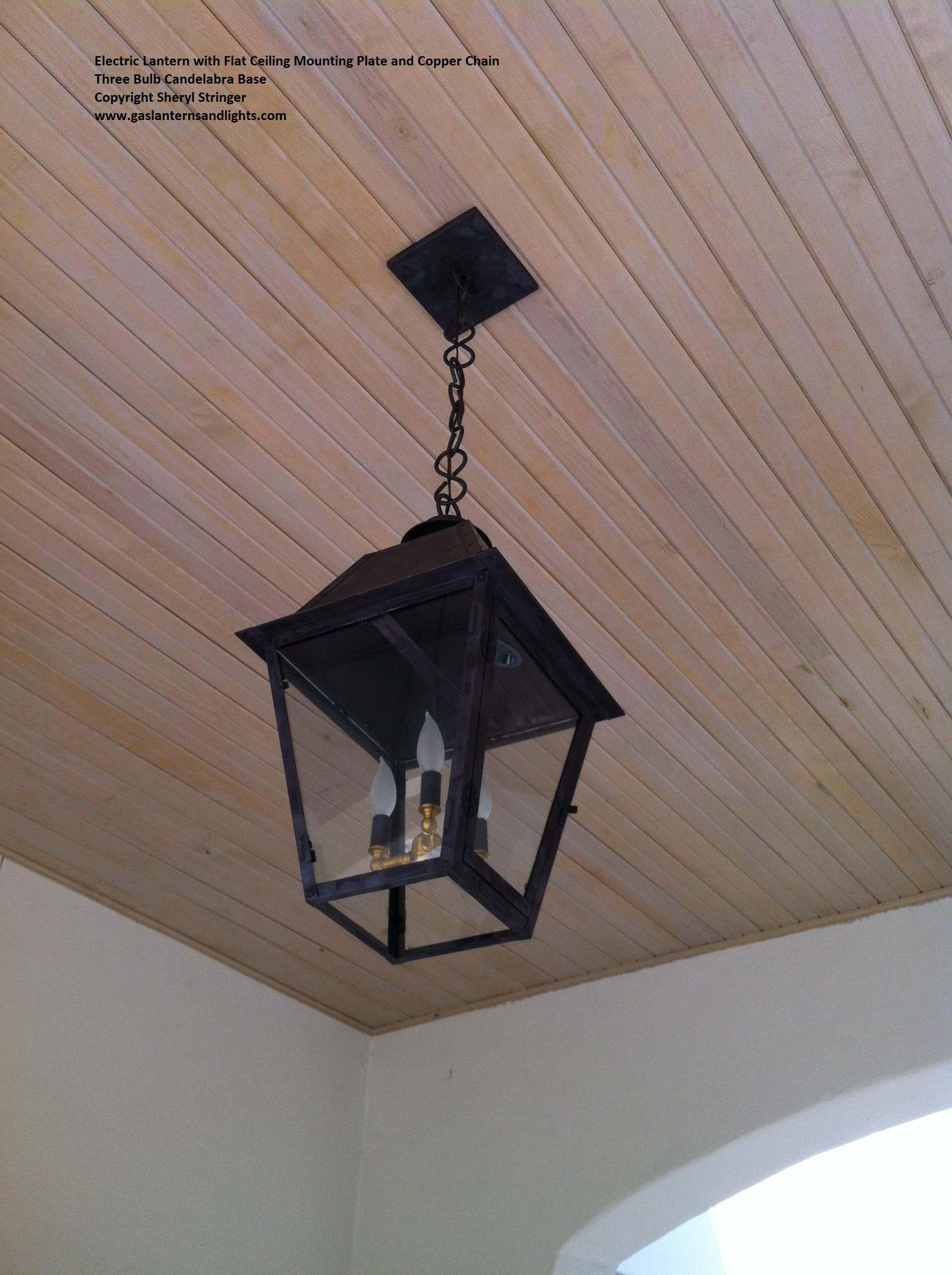 Electric Lanterns, Bulb Options
