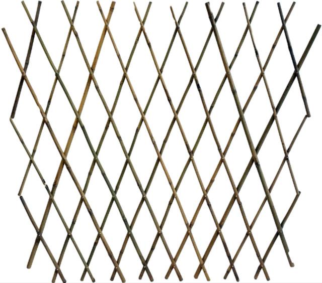 "Expandable  Bamboo Poles Trellis, 36""."