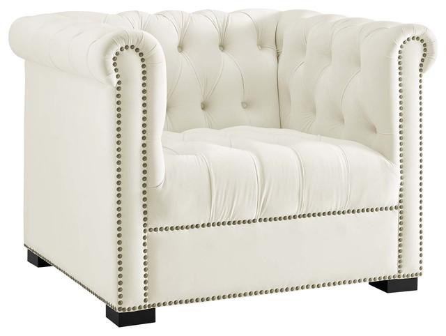 Outstanding Heritage Velvet Armchair Wl 04148 Mw Ivory Creativecarmelina Interior Chair Design Creativecarmelinacom