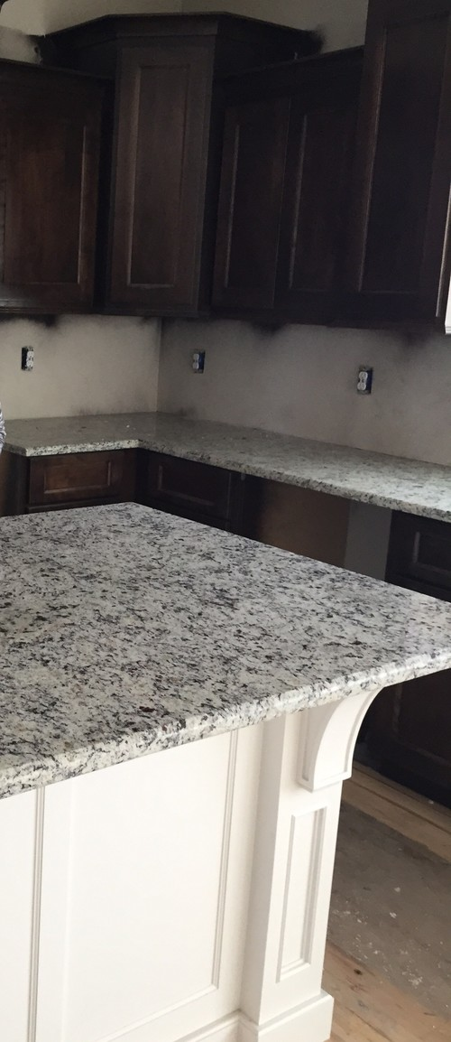 Backsplash with Dallas White Granite???