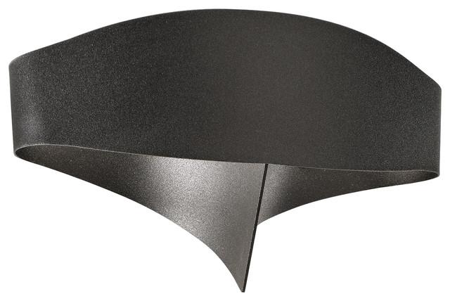 Scudo LED Wall Light, Black