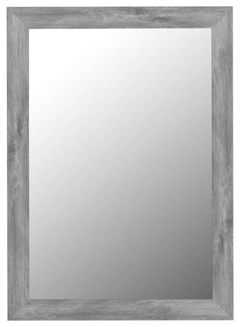 Coastal Gray Wall Mirror - Transitional - Wall Mirrors - by ...