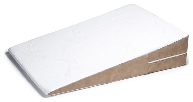 Avana Bed Wedge Acid Reflux Memory Foam Pillow Half Queen