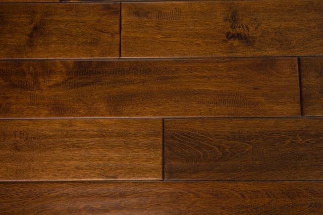 Monticello Solid Hardwood, Caramel.