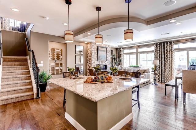 The Gunnison Model Contemporary Denver By Oakwood Homes