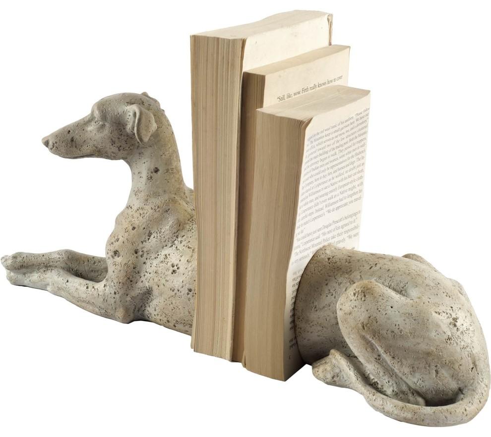 Art Deco Graceful Whippet Born To Run Statue Greyhound Sculpture