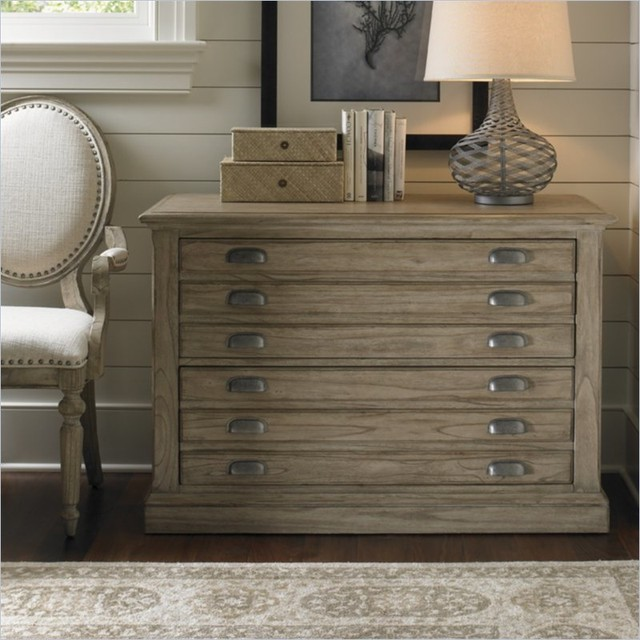 Sligh Barton Creek Johnson 2 Drawer Lateral File Cabinet - Traditional - Filing Cabinets ...