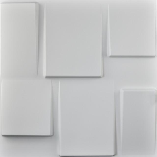 """20""""x20"""" Art3d Architectural 3d Wall Panels Textured Design Art, Set Of 12."""