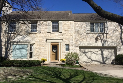 Marvelous Exterior Paint Color On Lannon Stone House?