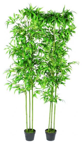 Set Of 2 Bamboo Artificial Home Decor 75 Asian Artificial
