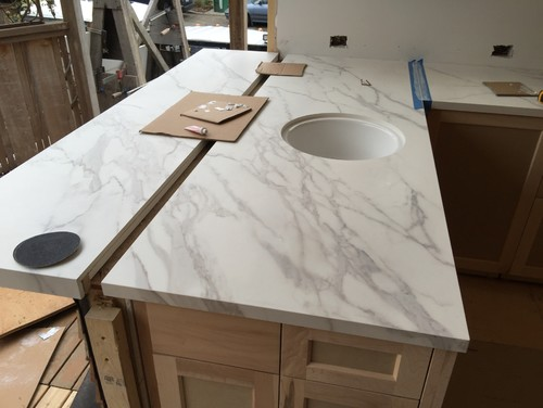Counters Are In Neolith Calacatta