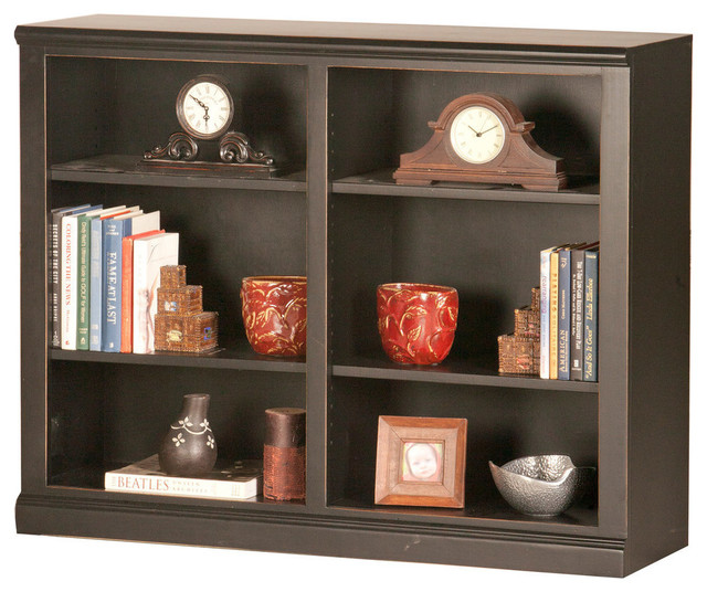 "Eagle Furniture 36"" Coastal, Double Wide Coastal Bookcase, Concord Cherry"