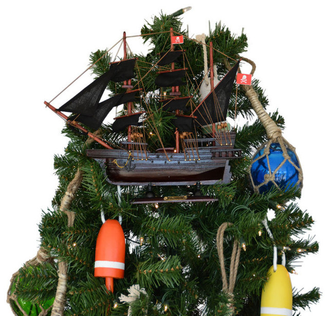 Henry Avery S The Fancy Model Pirate Ship Christmas Tree Topper Decoration